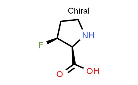(2S,3S)-3-Fluoropyrrolidine-2-carboxylic acid