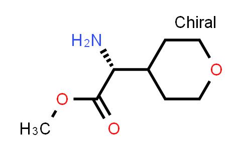 (R)-Methyl 2-amino-2-(tetrahydro-2H-pyran-4-yl)acetate