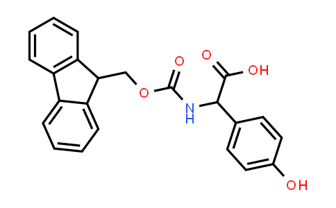 2-((((9H-Fluoren-9-yl)methoxy)carbonyl)amino)-2-(4-hydroxyphenyl)acetic acid