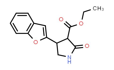 Ethyl 4-(benzofuran-2-yl)-2-oxopyrrolidine-3-carboxylate