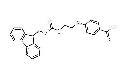 4-(2-((((9H-Fluoren-9-yl)methoxy)carbonyl)amino)ethoxy)benzoic acid