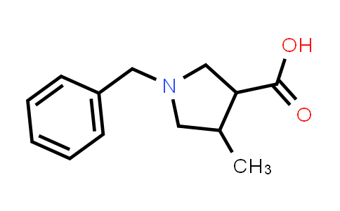 1-Benzyl-4-methylpyrrolidine-3-carboxylic acid