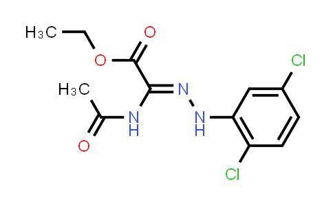 Ethyl 2-acetamido-2-(2-(2,5-dichlorophenyl)hydrazono)acetate