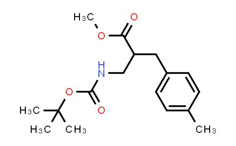Methyl 3-((tert-butoxycarbonyl)amino)-2-(4-methylbenzyl)propanoate