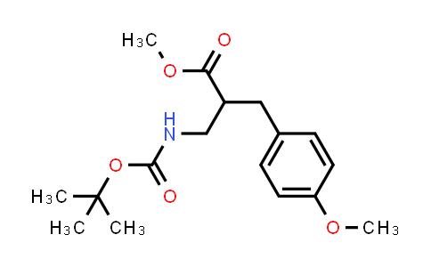 Methyl 3-((tert-butoxycarbonyl)amino)-2-(4-methoxybenzyl)propanoate