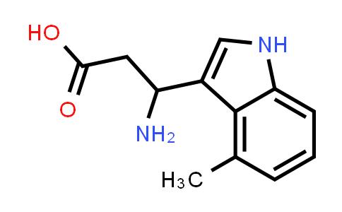 3-Amino-3-(4-methyl-1H-indol-3-yl)propanoic acid