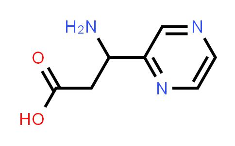 3-Amino-3-(pyrazin-2-yl)propanoic acid