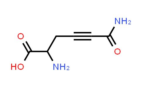 2,6-Diamino-6-oxohex-4-ynoic acid