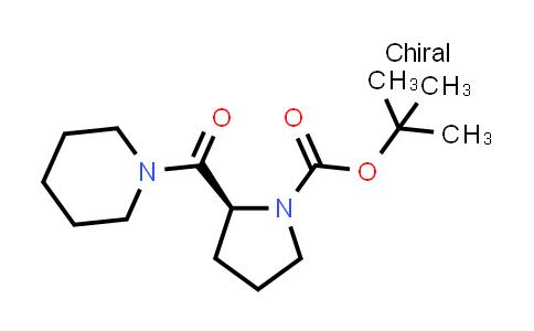 (S)-tert-Butyl 2-(piperidine-1-carbonyl)pyrrolidine-1-carboxylate