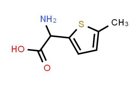 2-Amino-2-(5-methylthiophen-2-yl)acetic acid