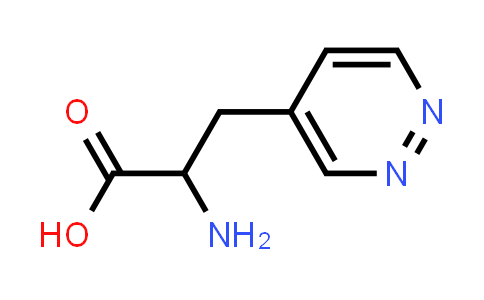 2-Amino-3-(pyridazin-4-yl)propanoic acid
