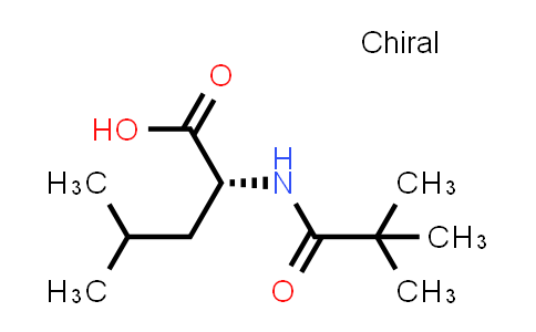 (2R)-2-(2,2-Dimethylpropanamido)-4-methylpentanoic acid