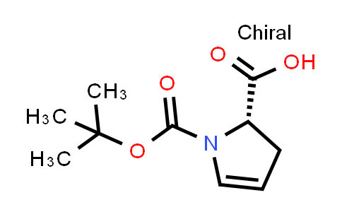 (S)-1-(tert-Butoxycarbonyl)-2,3-dihydro-1H-pyrrole-2-carboxylic acid