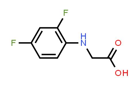 2-((2,4-Difluorophenyl)amino)acetic acid