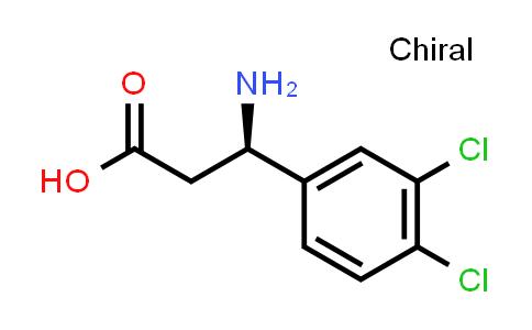 (R)-3-Amino-3-(3,4-dichlorophenyl)propanoic acid