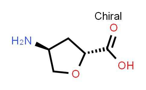 trans-4-Aminotetrahydrofuran-2-carboxylic acid