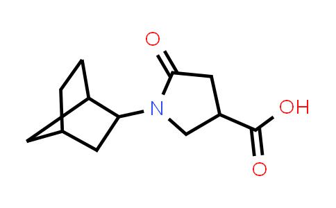 1-(Bicyclo[2.2.1]heptan-2-yl)-5-oxopyrrolidine-3-carboxylic acid