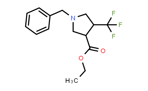 Ethyl 1-benzyl-4-(trifluoromethyl)pyrrolidine-3-carboxylate
