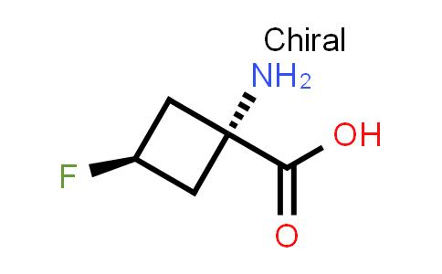 cis-1-Amino-3-fluoro-cyclobutanecarboxylic acid