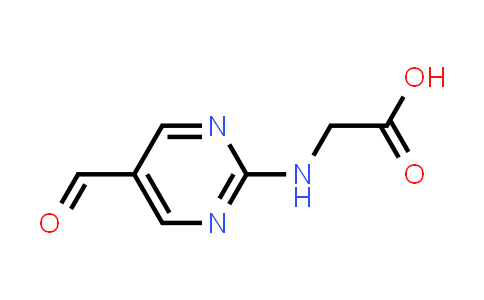 2-((5-Formylpyrimidin-2-yl)amino)acetic acid