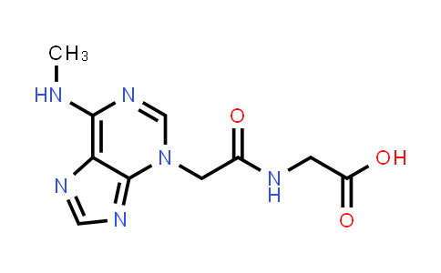 2-(2-(6-(Methylamino)-3H-purin-3-yl)acetamido)acetic acid