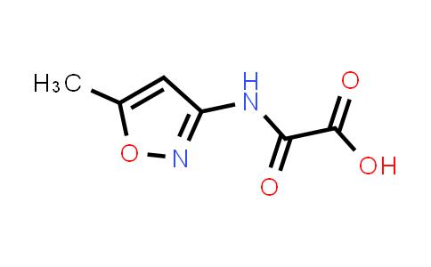 2-((5-Methylisoxazol-3-yl)amino)-2-oxoacetic acid