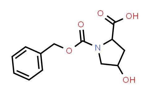 1-((Benzyloxy)carbonyl)-4-hydroxypyrrolidine-2-carboxylic acid