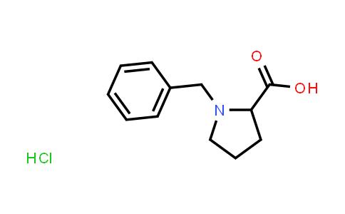 1-Benzylpyrrolidine-2-carboxylic acid hydrochloride