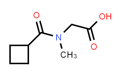2-(N-Methylcyclobutanecarboxamido)acetic acid