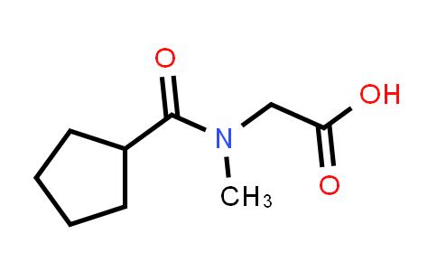 2-(N-Methylcyclopentanecarboxamido)acetic acid