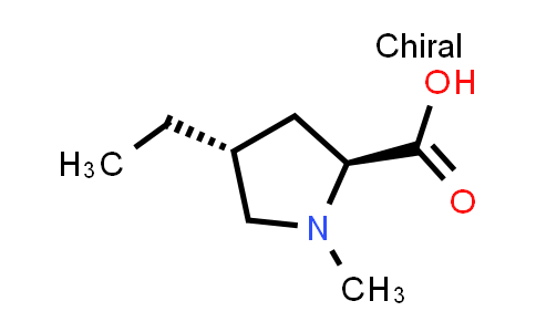 (2S,4R)-4-Ethyl-1-methylpyrrolidine-2-carboxylic acid