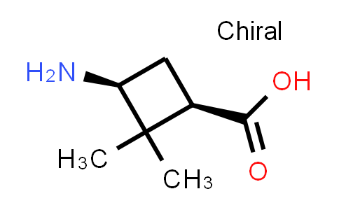 (1R,3S)-3-Amino-2,2-dimethylcyclobutanecarboxylic acid