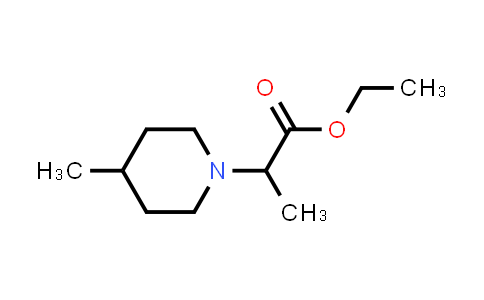 Ethyl 2-(4-methylpiperidin-1-yl)propanoate