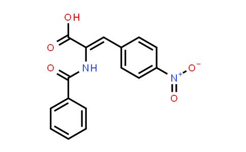 (Z)-2-Benzamido-3-(4-nitrophenyl)acrylic acid