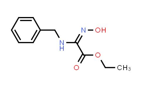 Ethyl 2-(benzylamino)-2-(hydroxyimino)acetate