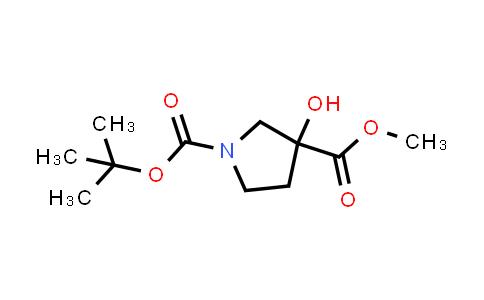 1-tert-Butyl 3-methyl 3-hydroxypyrrolidine-1,3-dicarboxylate