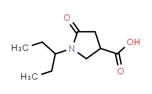5-Oxo-1-(pentan-3-yl)pyrrolidine-3-carboxylic acid