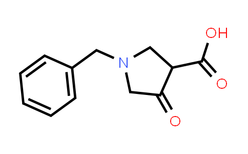 1-Benzyl-4-oxopyrrolidine-3-carboxylic acid
