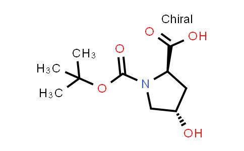trans-1-(tert-Butoxycarbonyl)-4-hydroxypyrrolidine-2-carboxylic acid