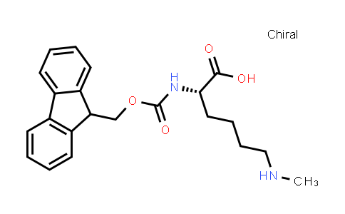 (S)-2-((((9H-Fluoren-9-yl)methoxy)carbonyl)amino)-6-(methylamino)hexanoic acid