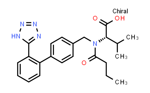 (S)-2-(N-((2'-(1H-Tetrazol-5-yl)-[1,1'-biphenyl]-4-yl)methyl)butyramido)-3-methylbutanoic acid