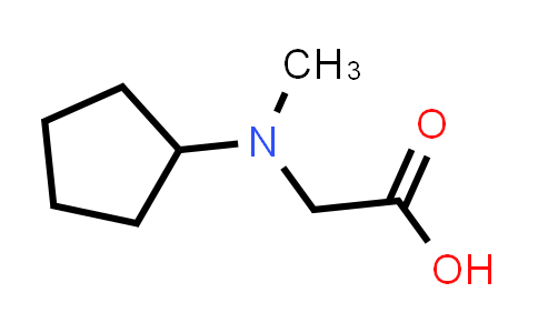 2-(Cyclopentyl(methyl)amino)acetic acid