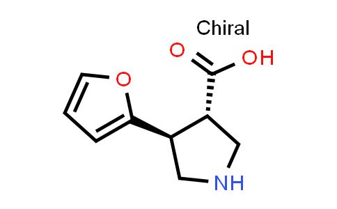 (3S,4S)-4-(Furan-2-yl)pyrrolidine-3-carboxylic acid