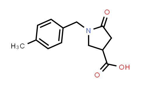 1-(4-Methylbenzyl)-5-oxopyrrolidine-3-carboxylic acid