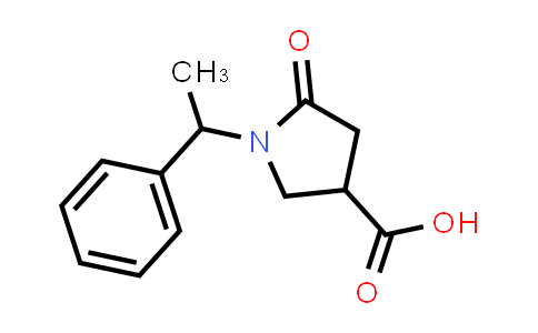 5-Oxo-1-(1-phenylethyl)pyrrolidine-3-carboxylic acid