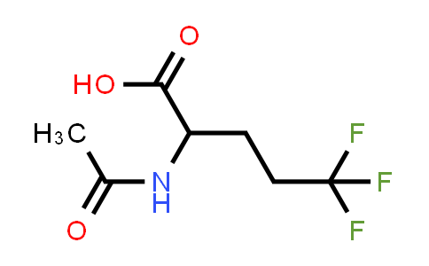 2-Acetamido-5,5,5-trifluoropentanoic acid