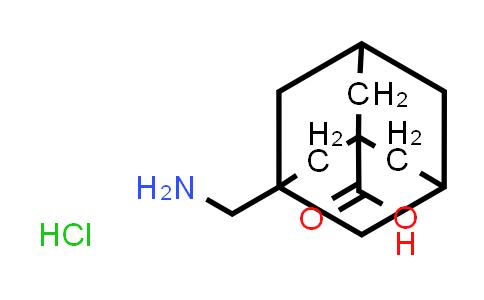 3-(Aminomethyl)adamantane-1-carboxylic acid hydrochloride