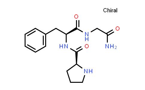 (S)-N-((S)-1-((2-Amino-2-oxoethyl)amino)-1-oxo-3-phenylpropan-2-yl)pyrrolidine-2-carboxamide