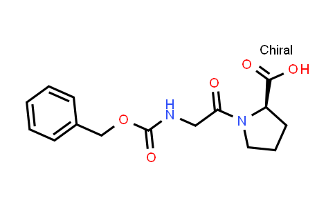 (R)-1-(2-(((Benzyloxy)carbonyl)amino)acetyl)pyrrolidine-2-carboxylic acid