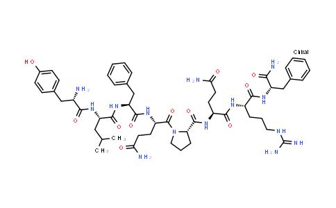 L-Tyrosyl-L-leucyl-L-phenylalanyl-L-glutaminyl-L-prolyl-L-glutaminyl-L-arginyl-L-phenylalaninamide